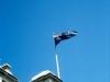 Melbourne - Australische Flagge