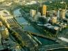 Sykline Melbourne vom Rialto Tower