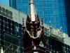 Melbourne - alte Kirche vor neuem Wolkenkratzer