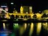 Melbourne - Skyline bei Nacht